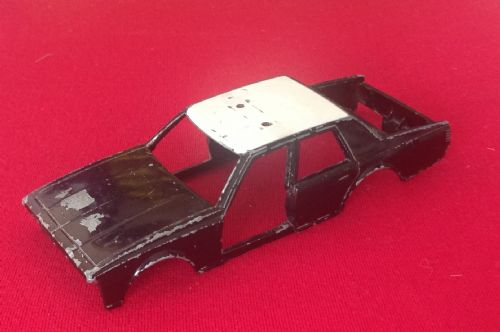 Corgi #326 - Original - Chevrolet Caprice Police Car Body Shell Unit